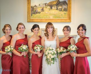 A winter wedding at The Elvetham….