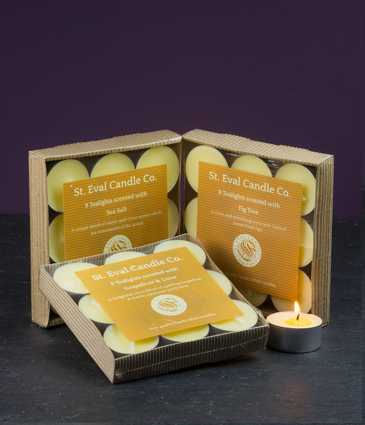 St Eval Tealight Scented Candles