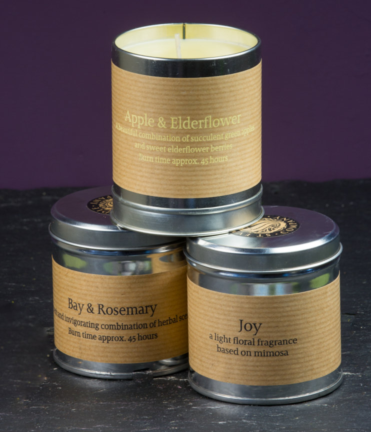 St Eval Tin Candles.