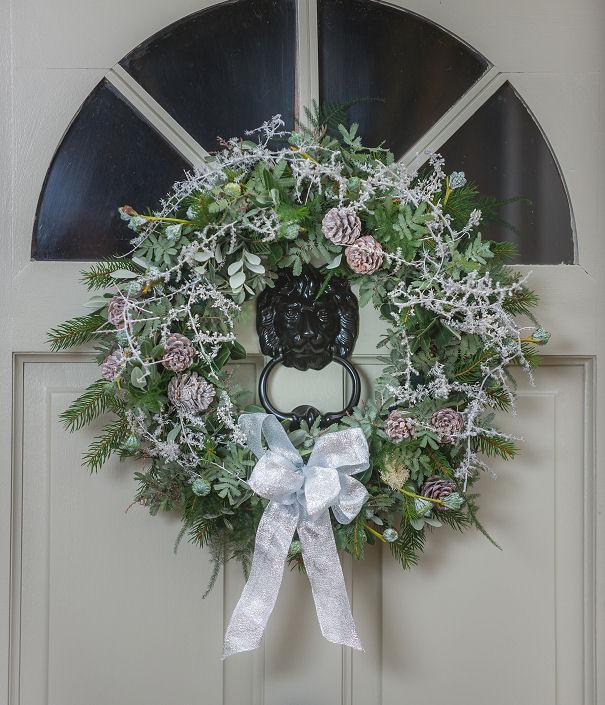 White Frost Wreath