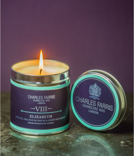 Charles Farris Signature Tin Candle