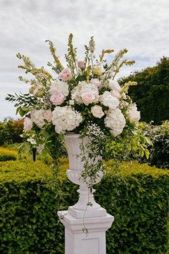 Floral urns