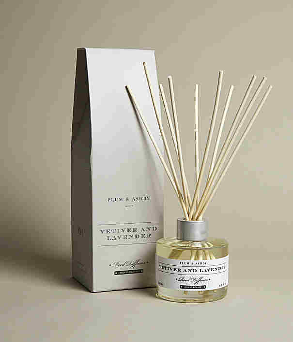 Plumb & Ashby Vetiver And Lavender Reed Diffuser