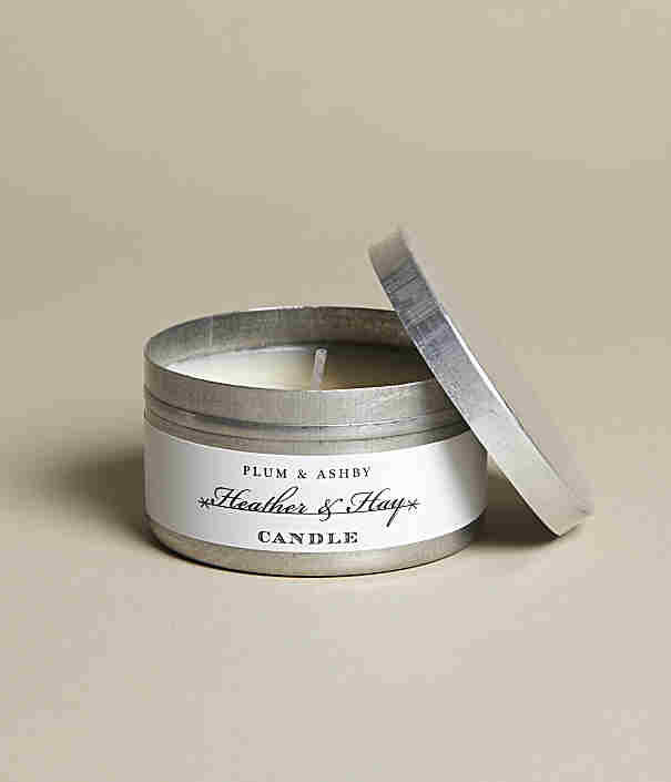 Plumb & Ashby Heather & Hay Tin Candle