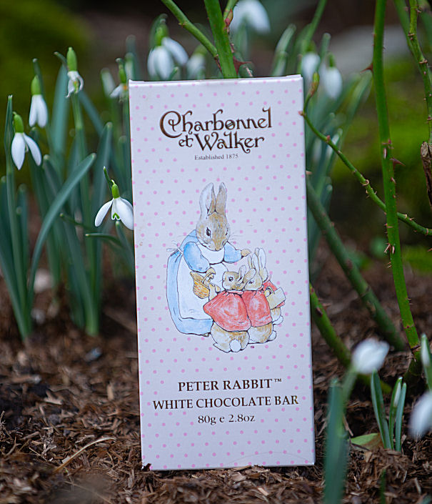 Charbonnel et Walker Peter Rabbit White Chocolate Bar 80g