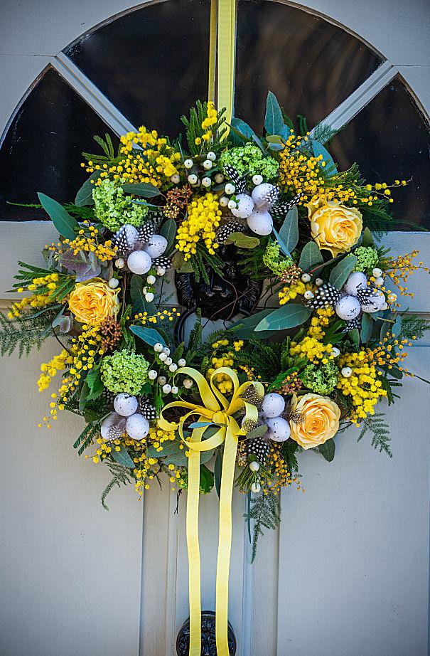 Spring Cheer Wreath